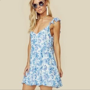 Show Me Your MuMu - floral dress - Medium